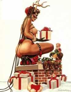 Sexy-Kinky-Fetish-Girl-Christmas-Naked