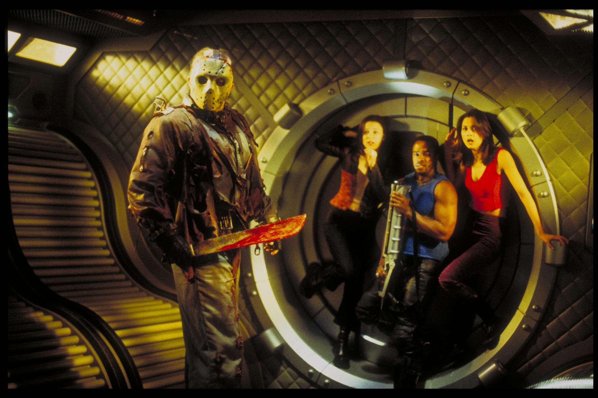 """In """"Jason X,"""" the titular murderer wreaks havoc in space."""