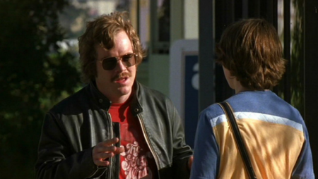 Lester Bangs in Almost Famous