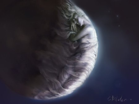Close_up_of_the_Moon_by_mrDExArts