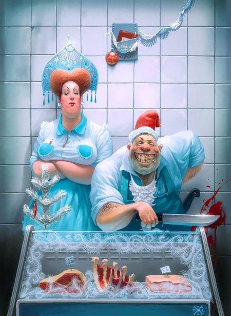 Funny_russian_butchers_by_Waldemar_Kazak