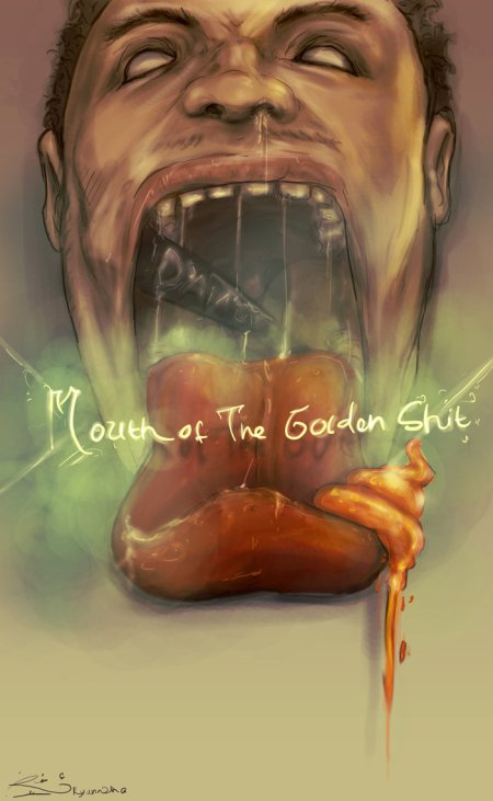 Mouth_of_The_Golden_Shit_by_Ryannzha