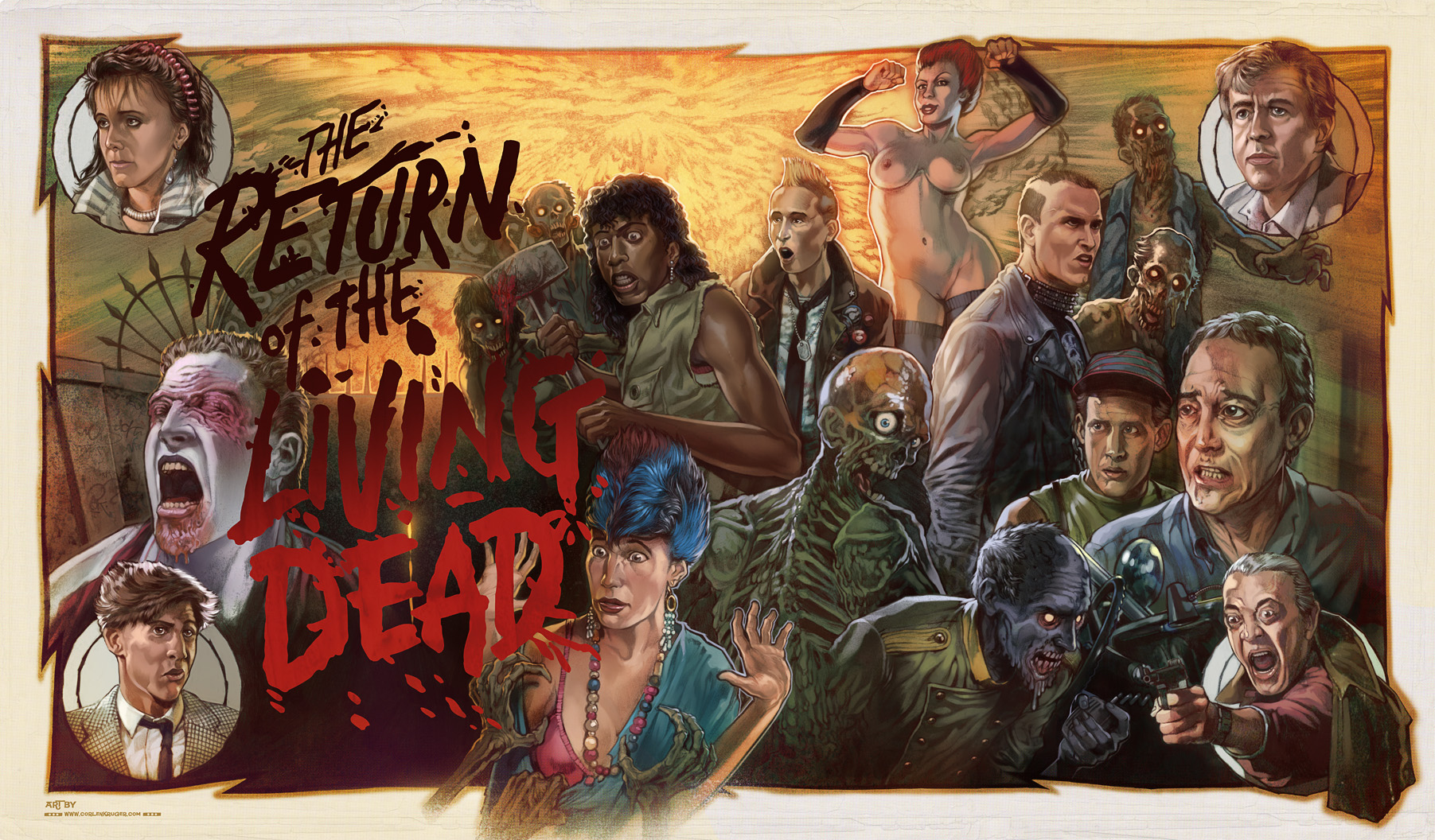 Return Of The Living Dead Ii 1988 Rivers Of Grue
