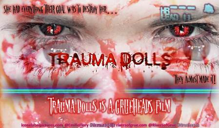 Flatline#Grueheads#TraumaDolls-Poster