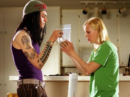 Smiley Face (2007) Adam Brody (L) and Anna Faris