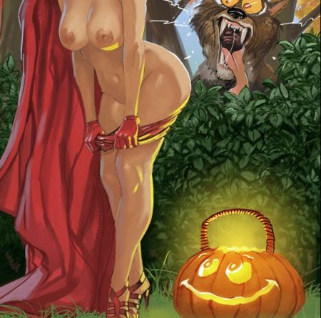 958931 - Halloween Little_Red_Riding_Hood Big_Bad_Wolf fairy_tales FransMensinkArtist