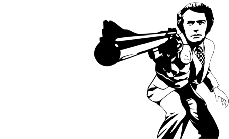 dirty_harry_monochrome_vector_by_timdallinger-d4xk52r