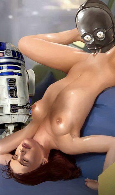 356928 - C-3PO Famous_Comics Princess_Leia_Organa R2-D2 Star_Wars