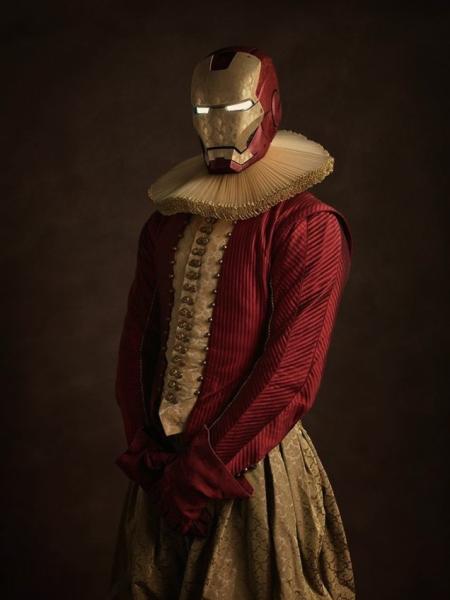 art-iron-man