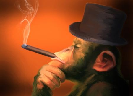 cigar-smoking-mokey