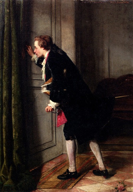 jean_carolus_peeping_tom_oil_on_panel_46-5_x_32-5_cm_private_collection