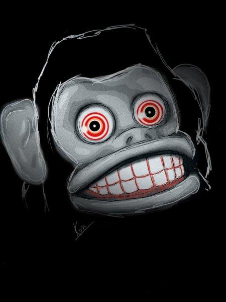 scary_ass_monkey_by_kiratheartist