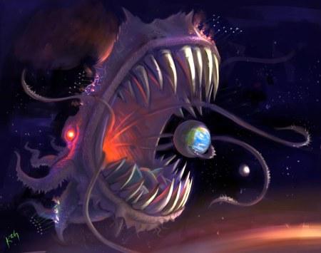 godlike-monster-art-fish