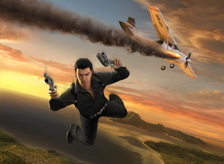 jc1_promotional_art_-_rico_jumping_from_plane
