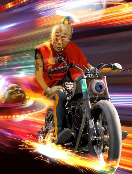 dalai-lama-motorbike-racer-76235