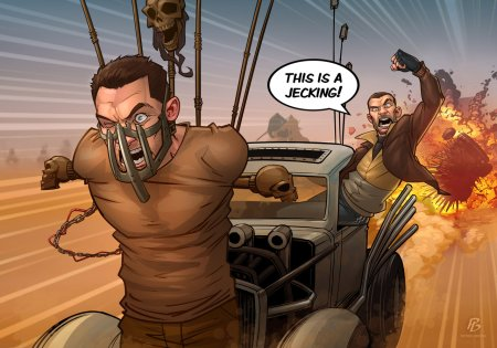 niko_bellic___mad_max__jecking__by_patrickbrown-d9apx9u